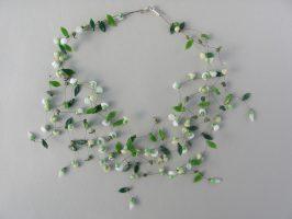 Dornröschen weiß | 6 Str.+A, Glas Stahlseil, Silber | 240794-14