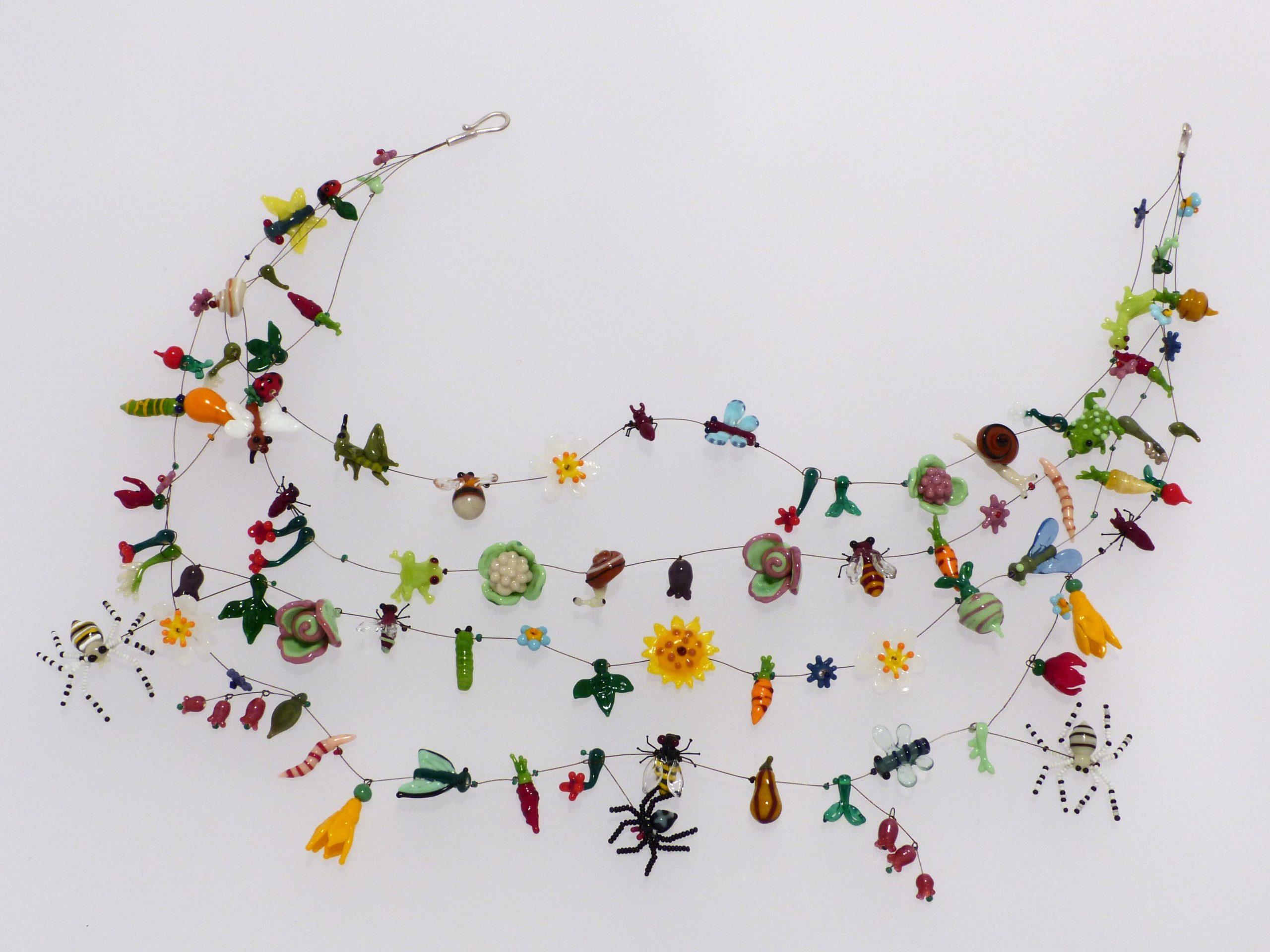 Artenvielfalt | 4 Str., Glas Stahlseil, Silber, Nylon | xxx980-19